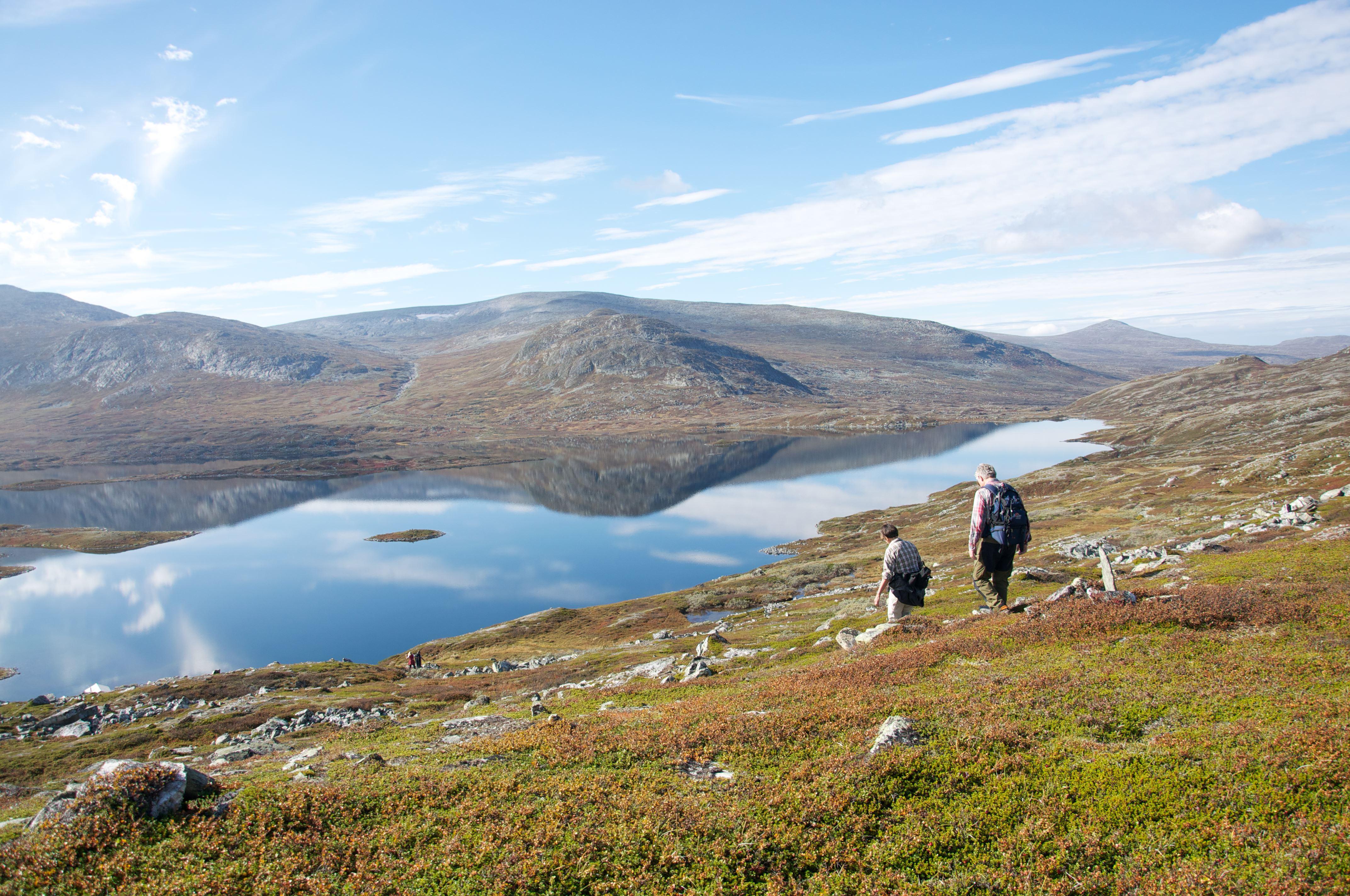 Topptursvandring med Fjällnäs Explore
