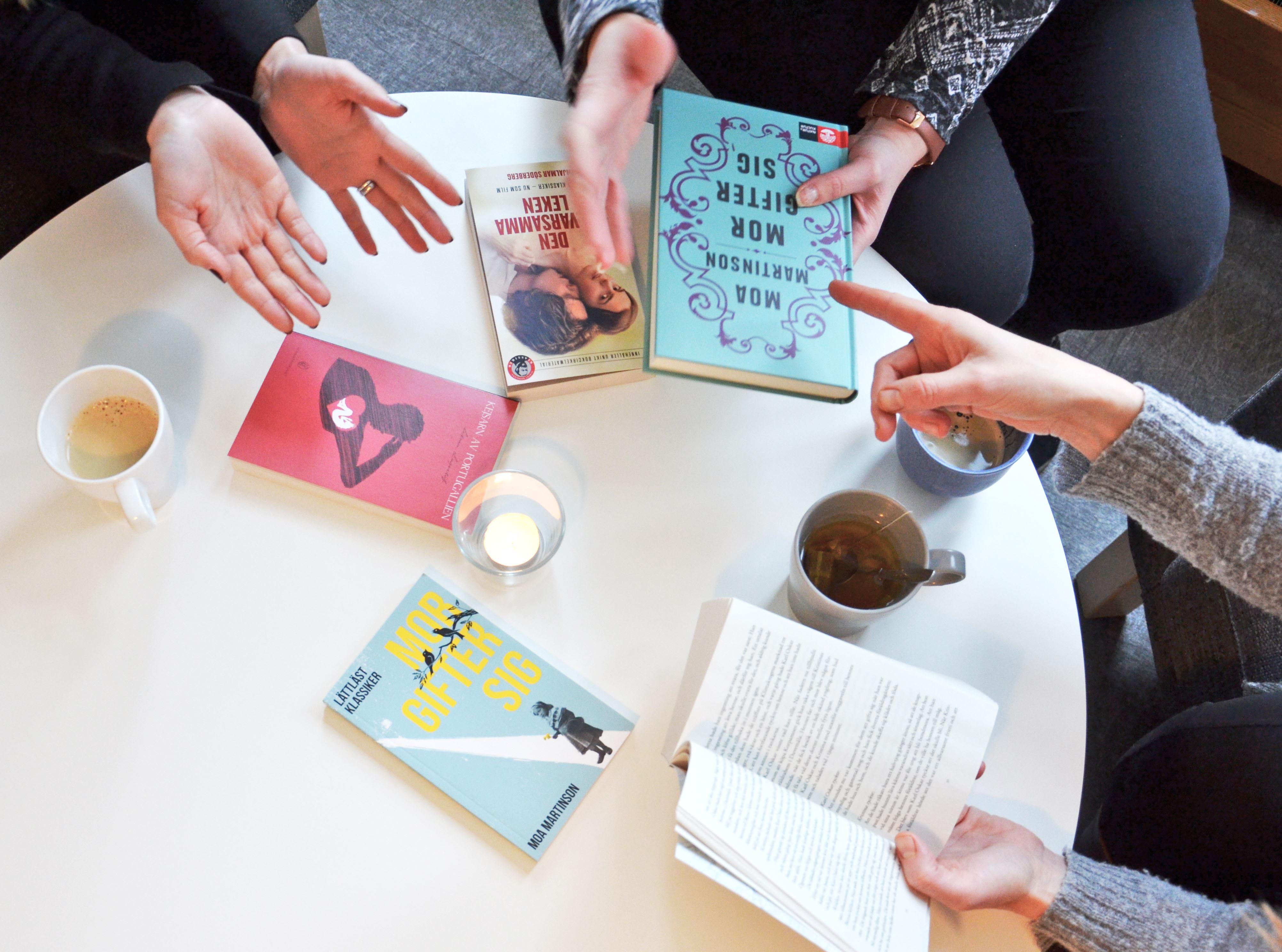 Sandvikens folkbibliotek, Öppet boksamtal:
