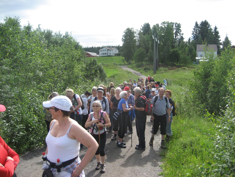 5 söndagars pilgrimsvandring: Ljungaverk - Borgsjö