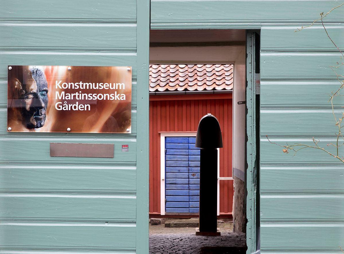 Öppet på Konstmuseum Martinssonska Gården