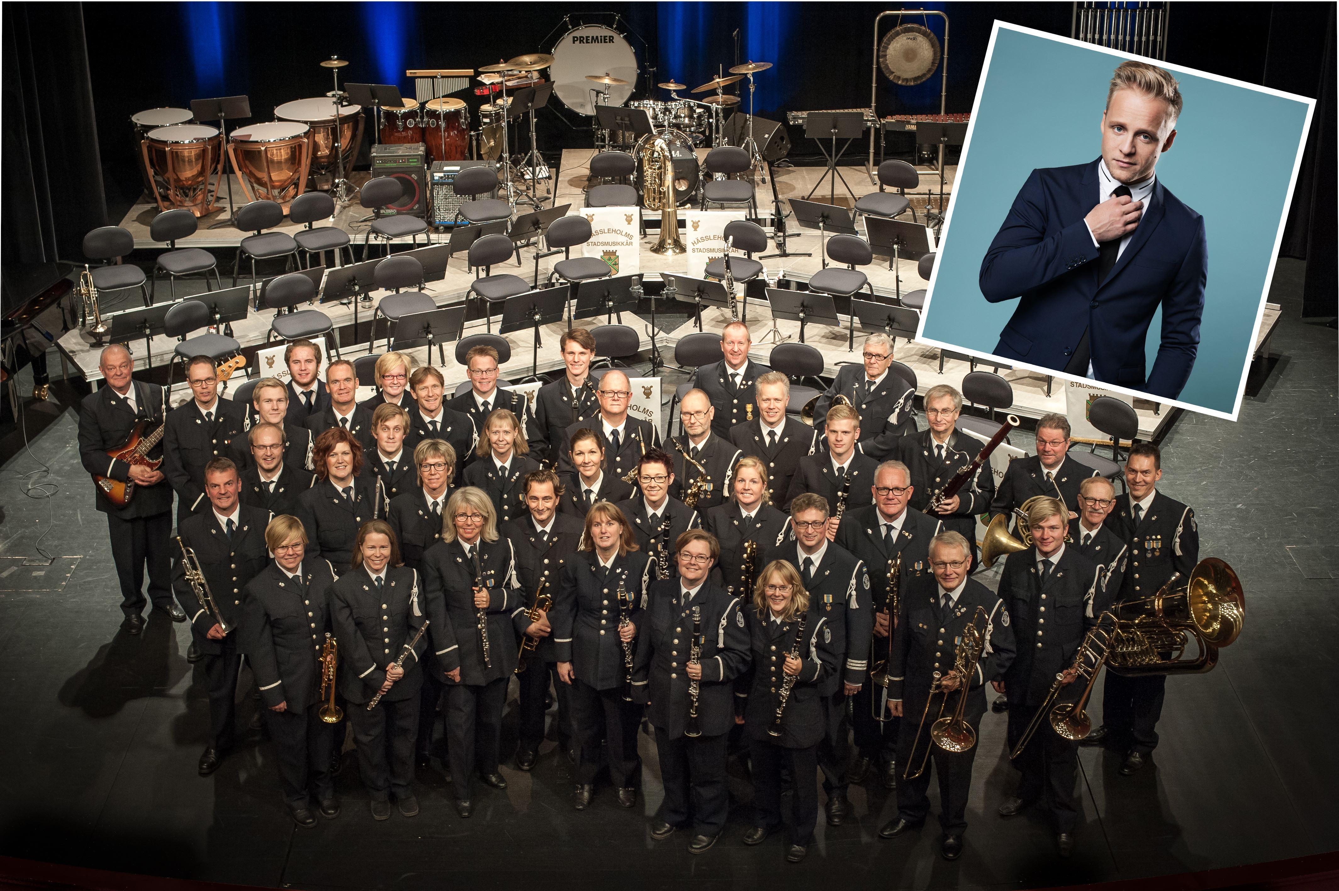 Jubileumskonsert med Hässleholms Stadsmusikkår och Andreas Weise