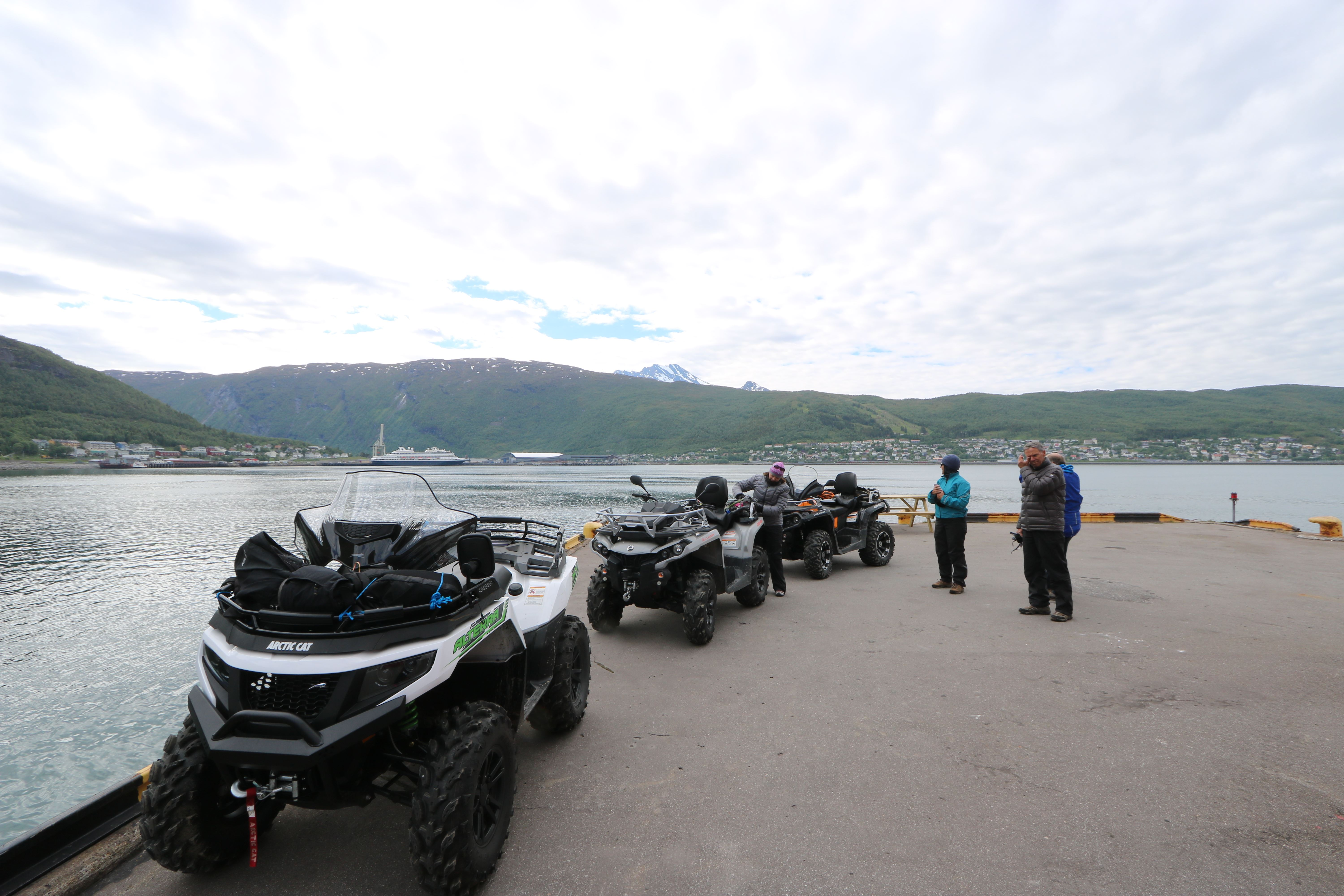 Explore Narvik from the ATV