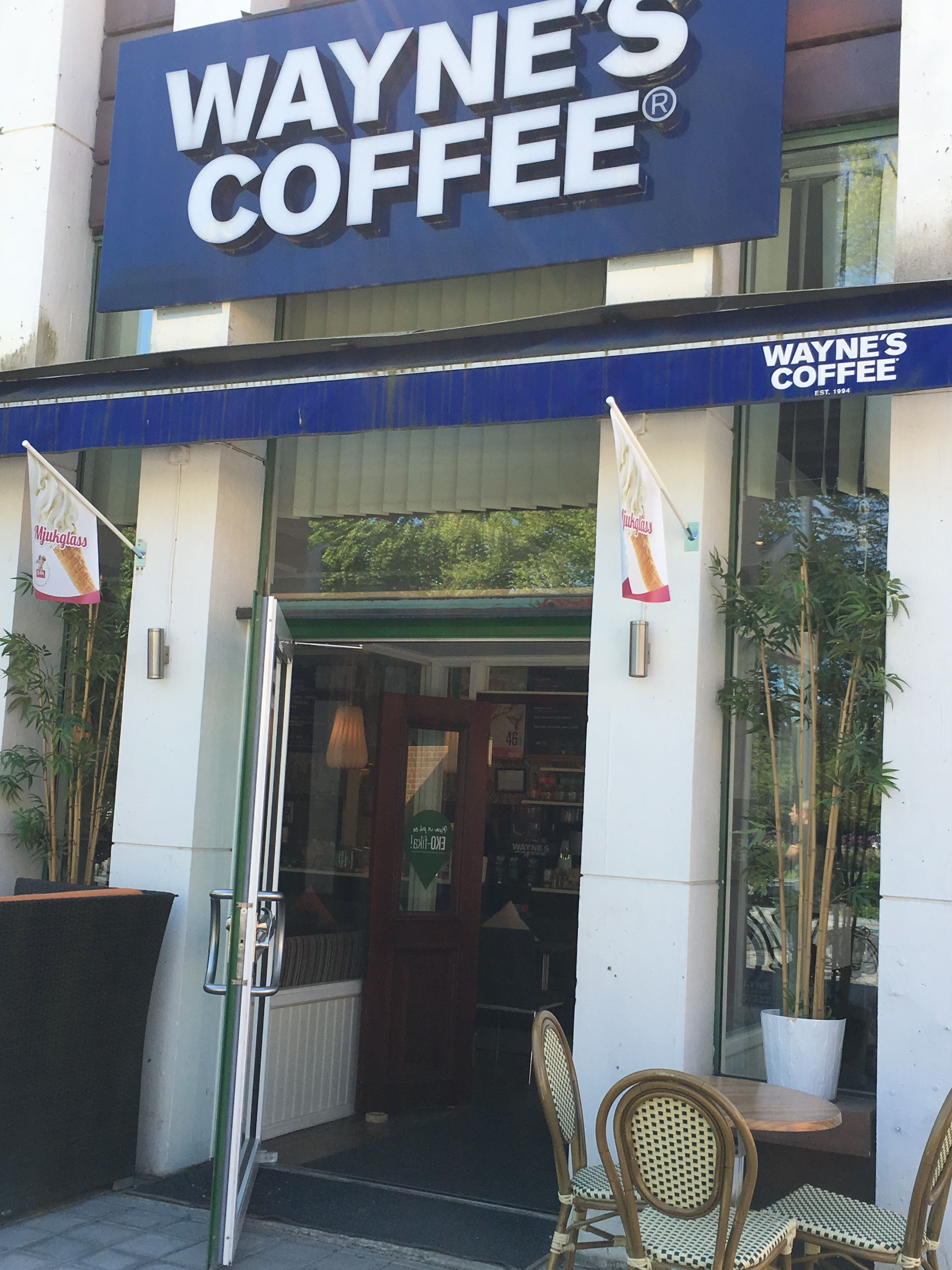Wayne´s Coffee Sandviken