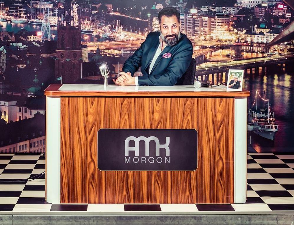 Stand up: En väldigt sen kväll med AMK