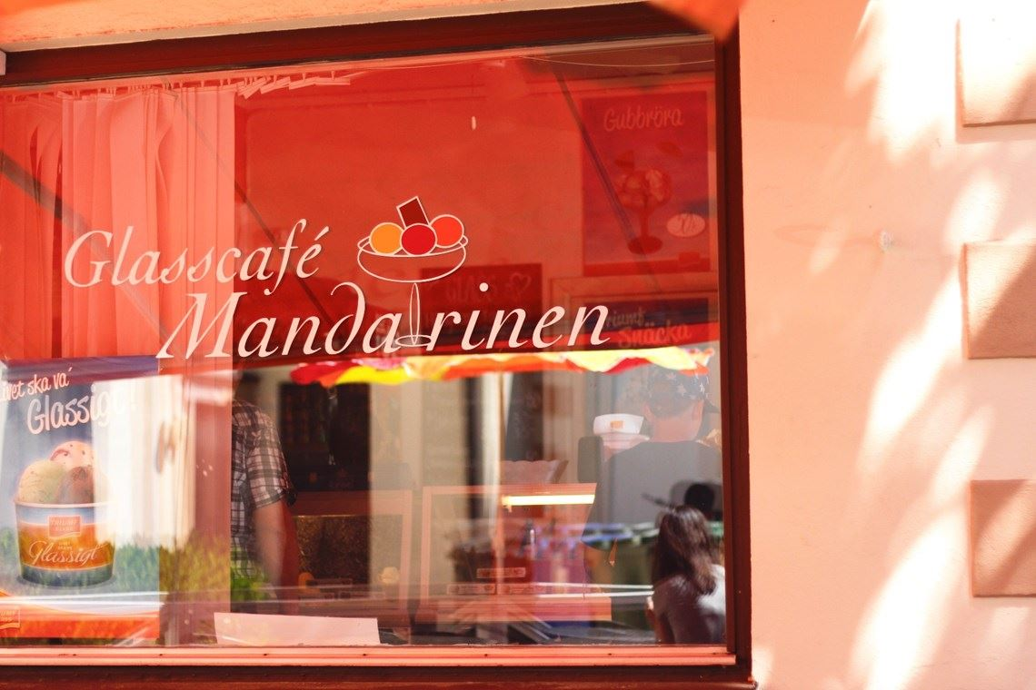 Glasscafé Mandarinen