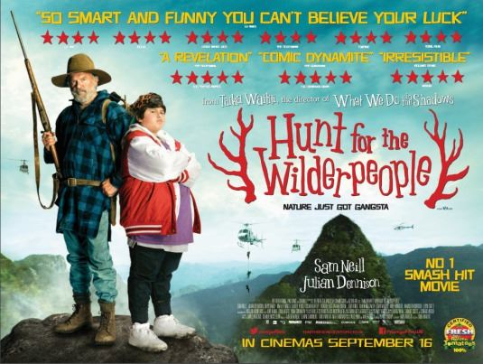 Utomhusbio Hunt for the Wilderpeople