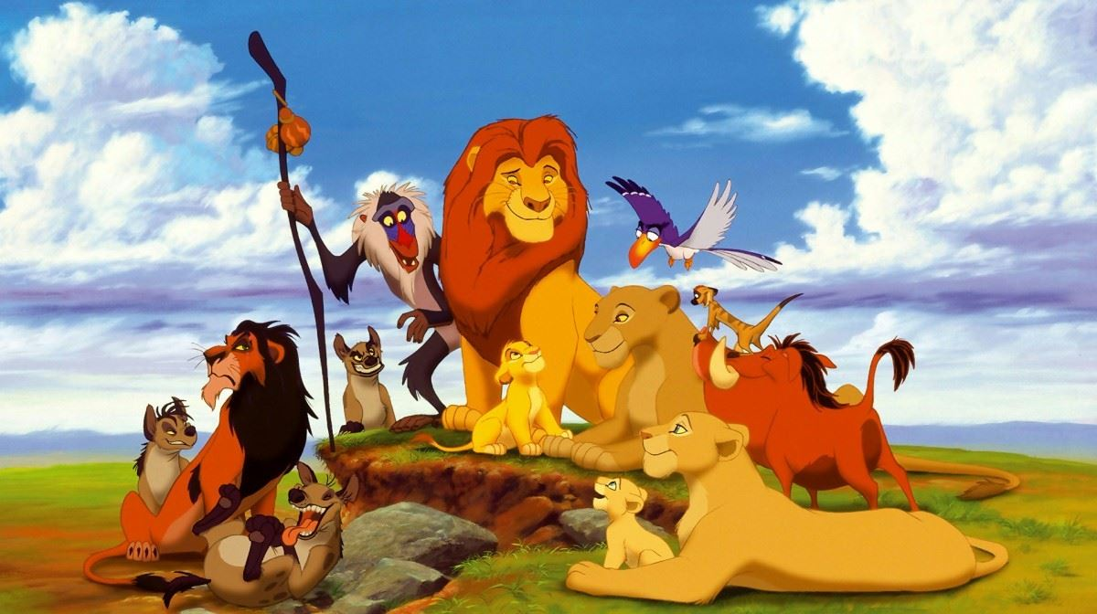 © Walt Disney, Utomhusbio The Lion King (Lejonkungen) - Engelskt tal