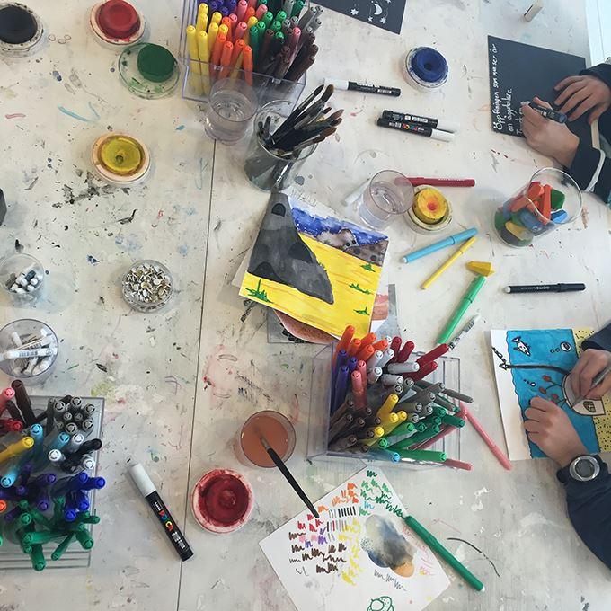 Kreativ verkstad på Bildmuseet