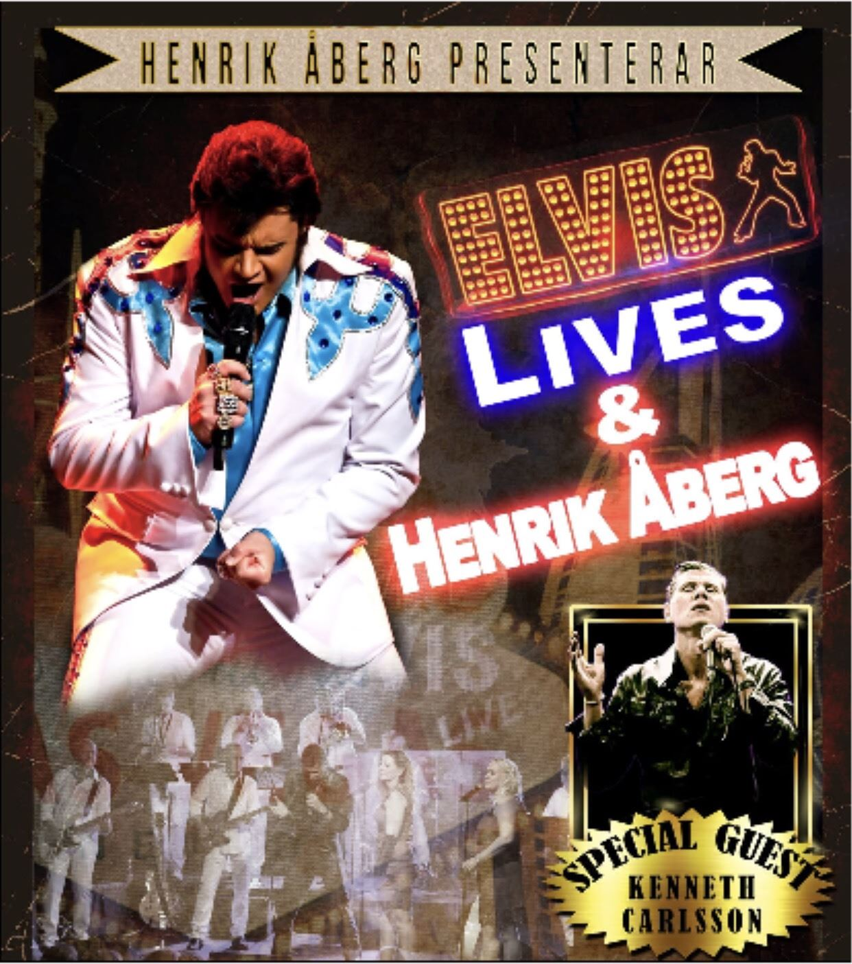 Konsert: Henrik Åberg - Elvis Lives