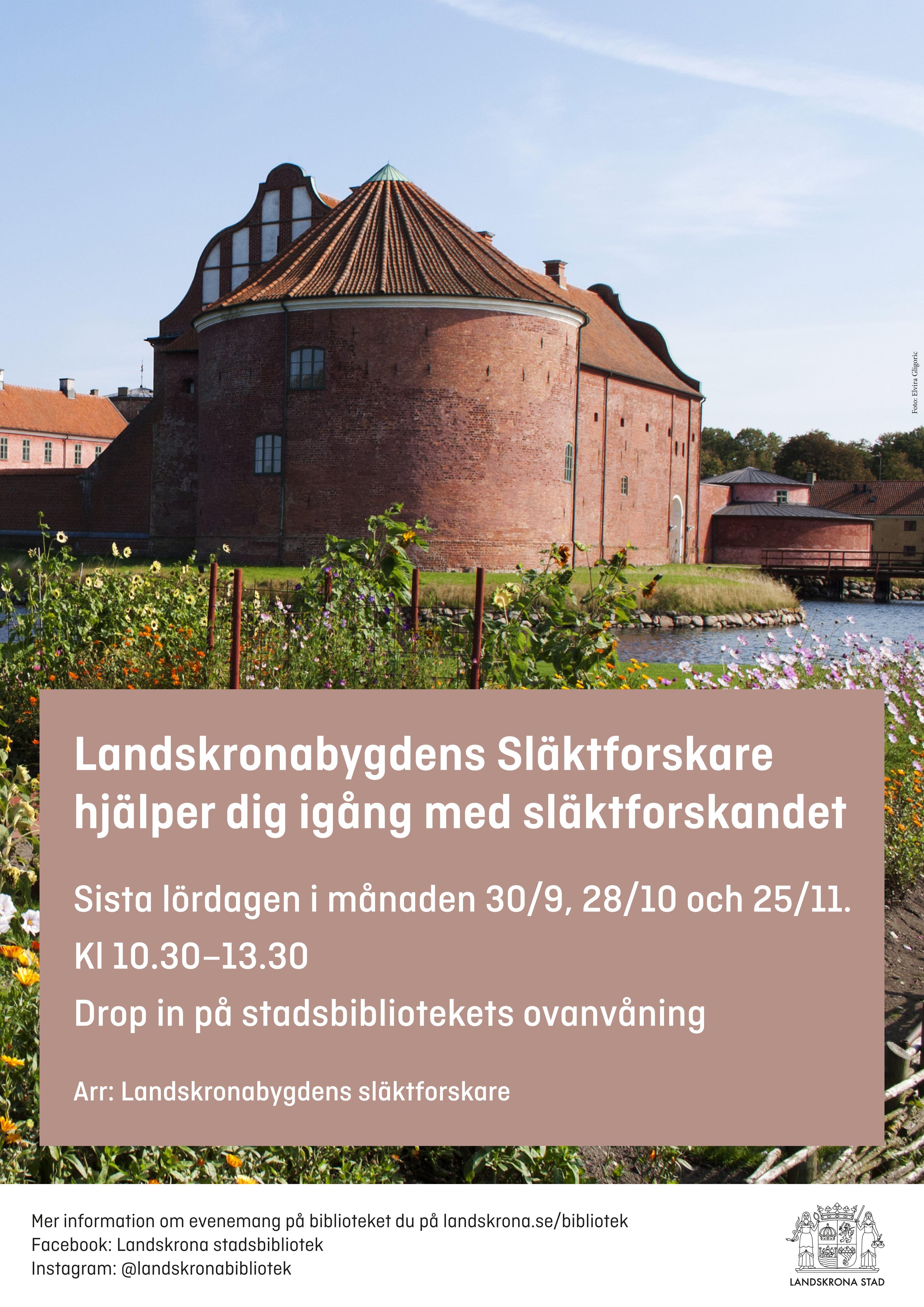 Prova på att släktforska med Landskronabygdens släktforskare