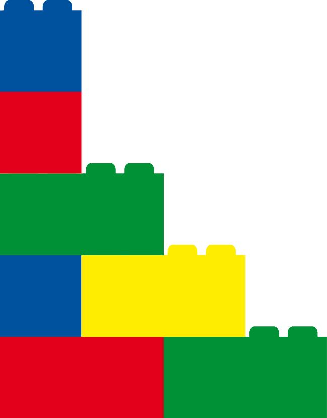 Build a new world in LEGO