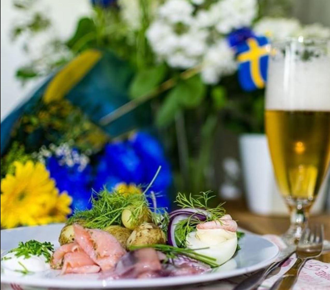 Midsommarbuffé på Restaurang Sjömärket