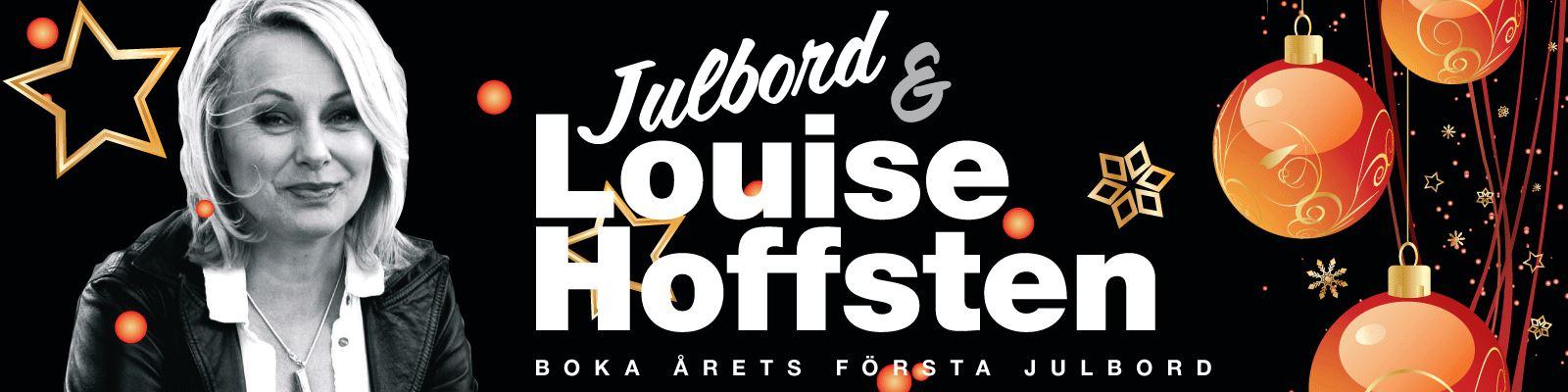 Julbord & Louise Hoffsten