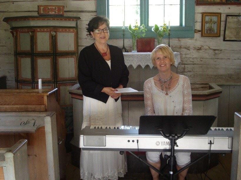 Stilla Sommarkväll i Bergöns kapell lördag den 8 juli .kl 18.00