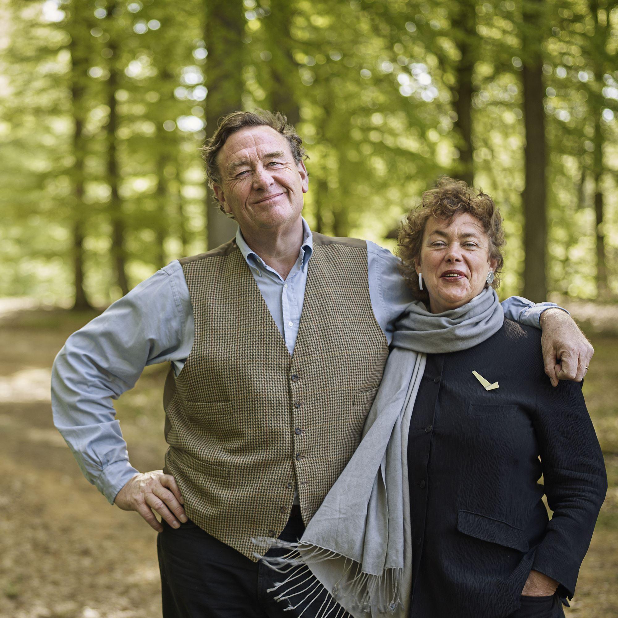 Fotograf: Peo Olsson,  Marika och CG Wachtmeister - konst, kor och kärlek på Wanås slott