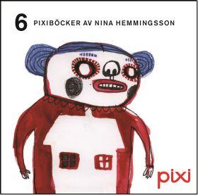 Nina Hemmingson - Pixiböcker för vuxna