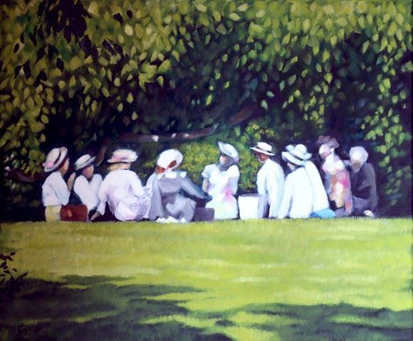 © Nina Björk, Konstutställning: Nina Björk