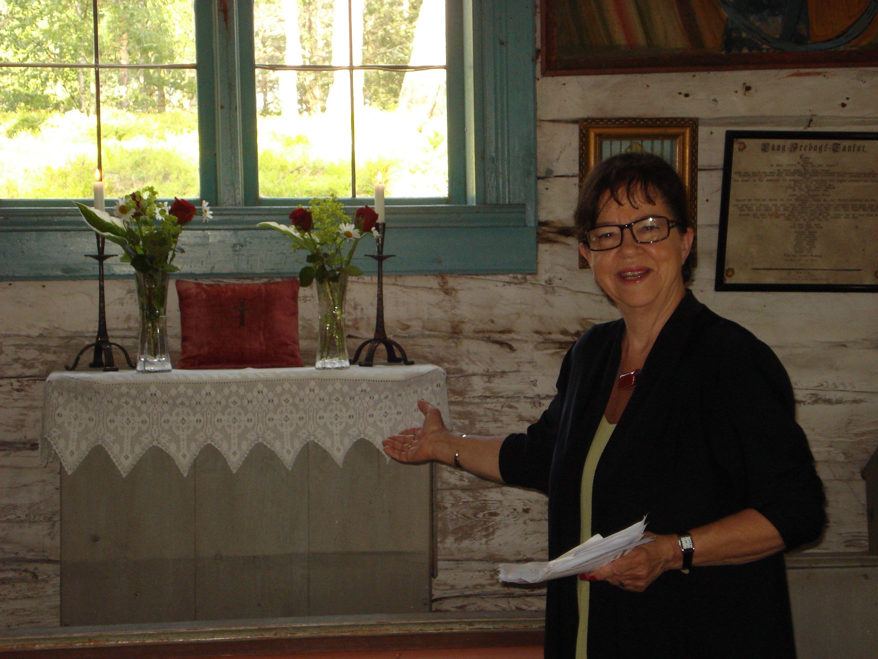 Öppet Hus Bergöns kapell 12.00-16.00 (Rogsta)