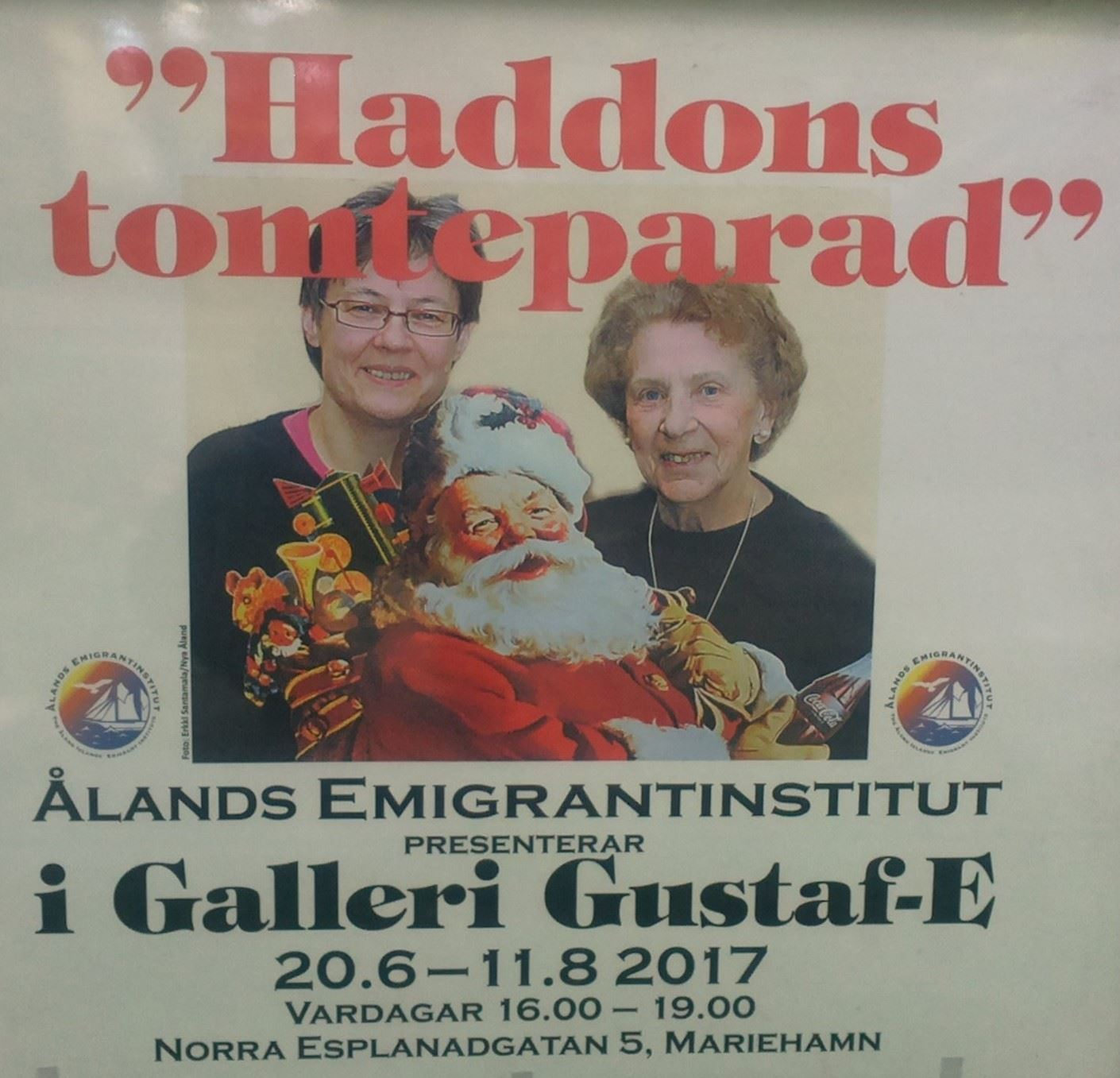 Exhibition: Haddon's Santas' Parade