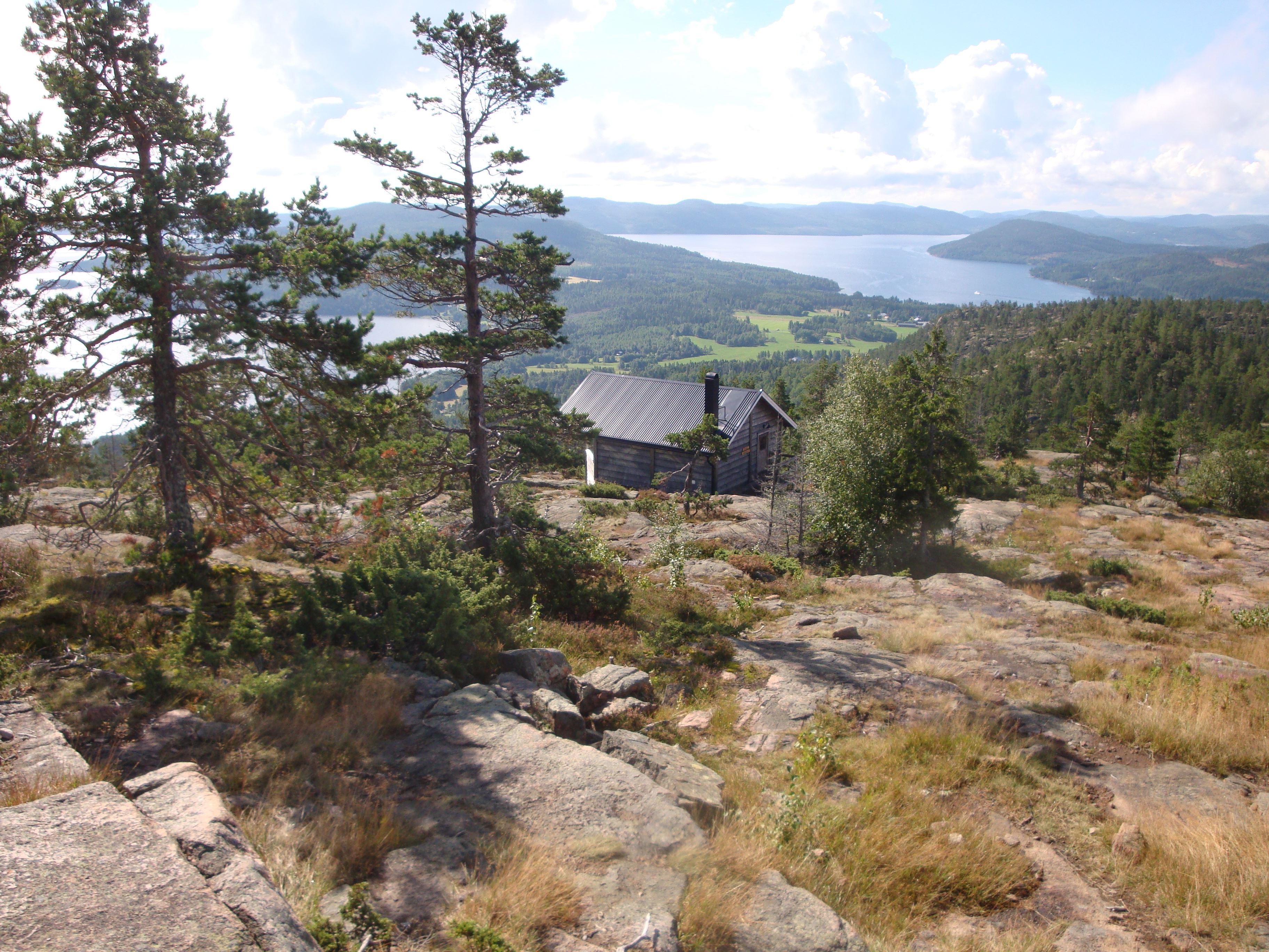 Anna Carlemalm, Landhöjningsguidning på Skulebergets topp