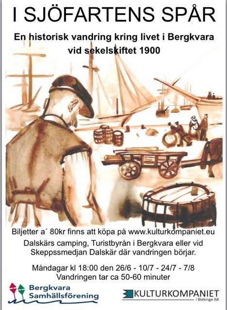 Historisk vandring i sjöfartens spår