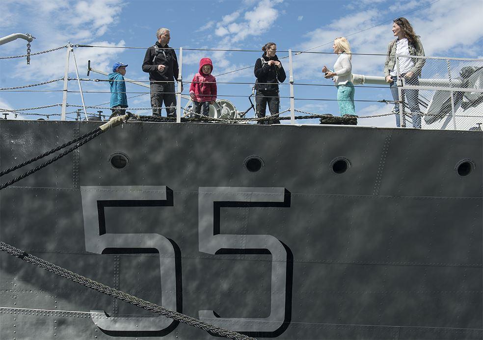 Fartygsvisningar på Marinmuseum