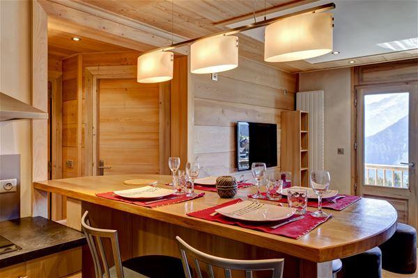 3 rooms 6 people ski-in ski-out / FORET DU PRAZ 405 (Mountain of Charm)