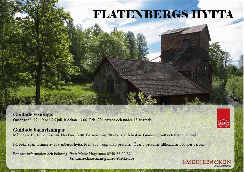 Guidade visningar - Flatenbergs hytta
