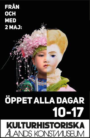 """Summer exhibition: """"Talar föremålen svenska?"""" in Ålands Kulturhistoriska museum"""