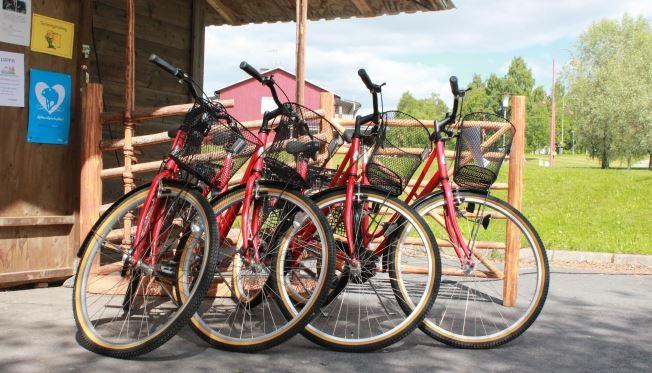 Hyr cykel i Bjurholm