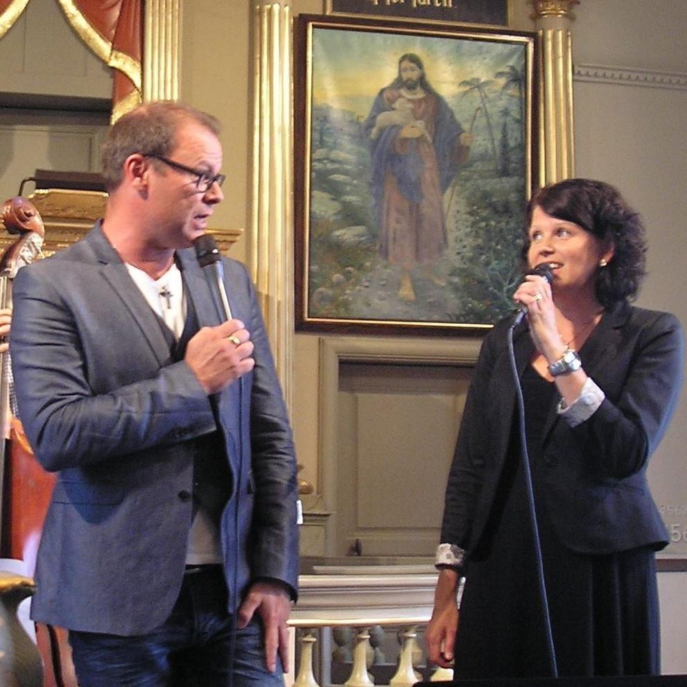 Eva Jernqvist,  © Eva Jernqvist, Ylva Timan Olofsson och Mikael Olofsson i Los kyrka 2014.