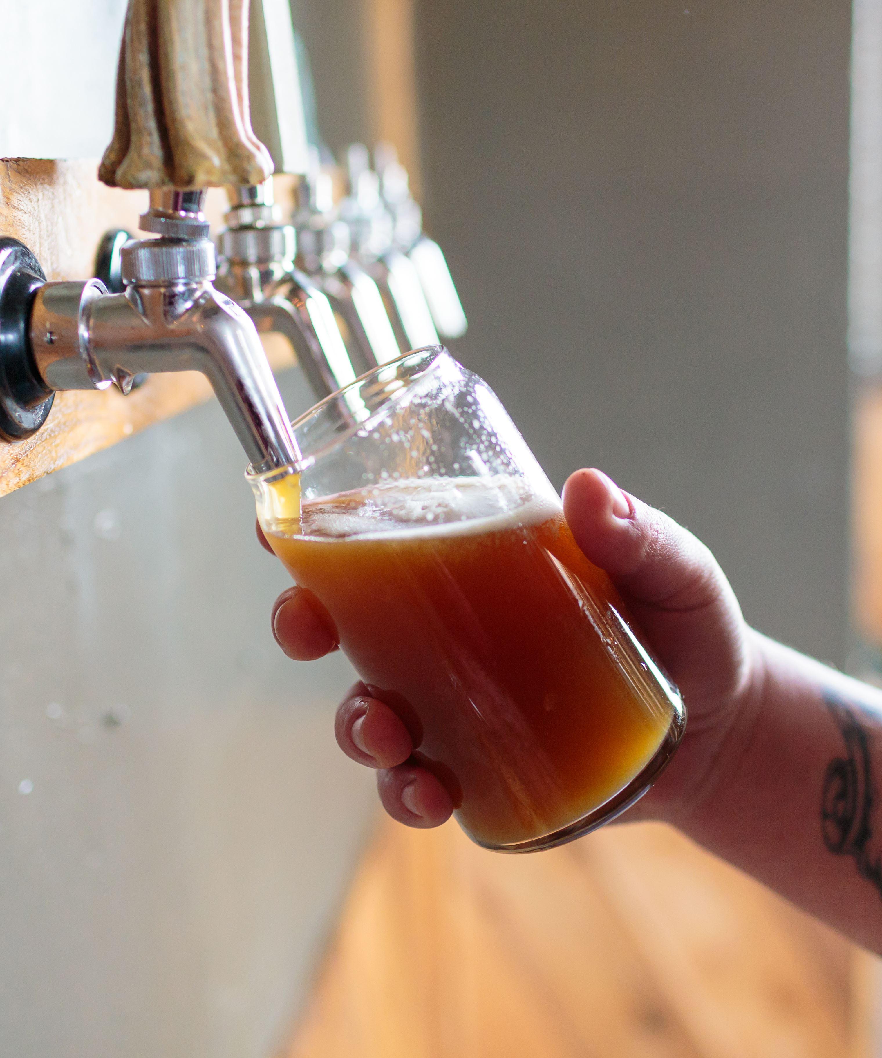 Shutterstock, Øl fra tappekran