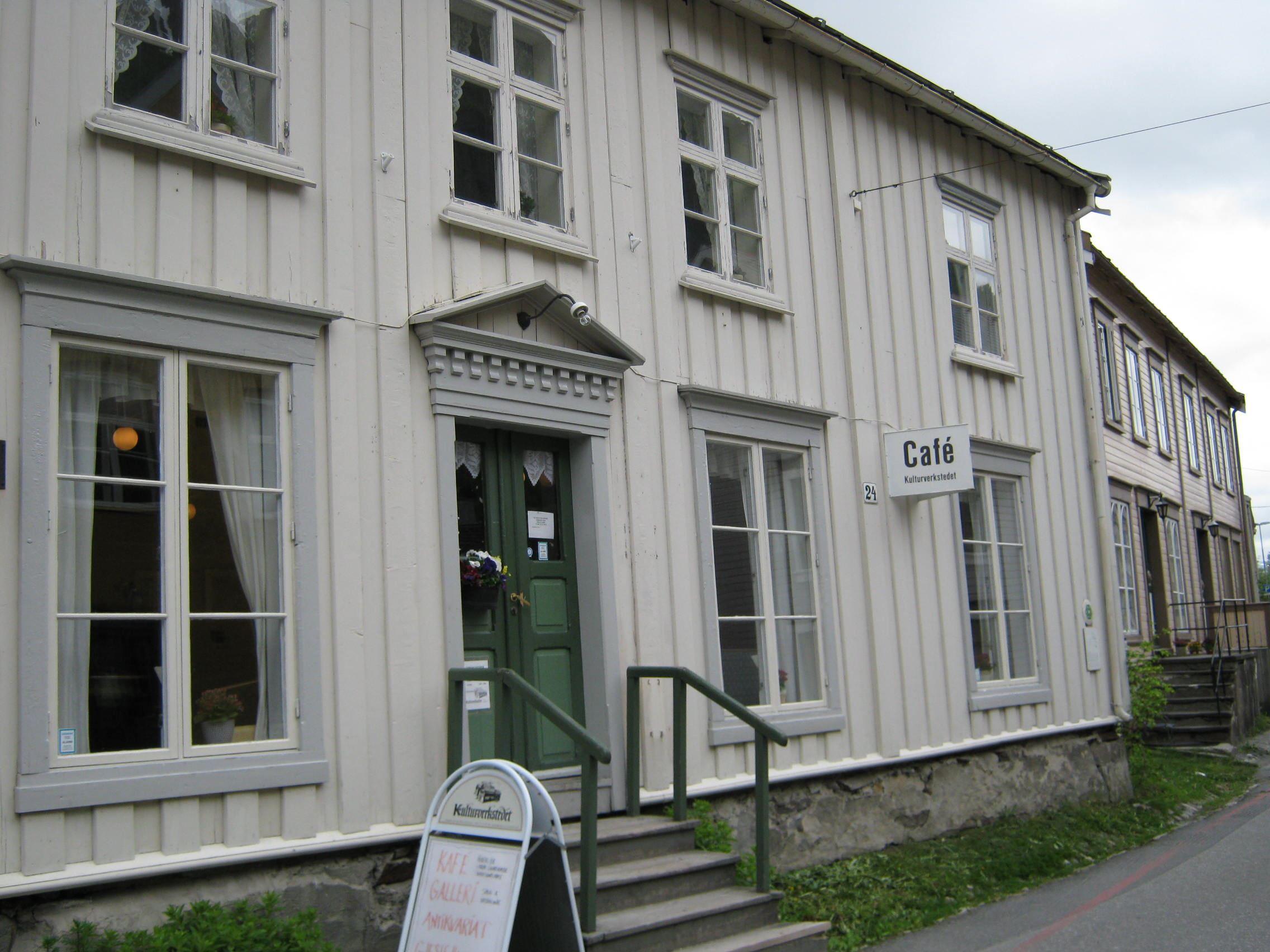 Gjestehusene i Sjøgata