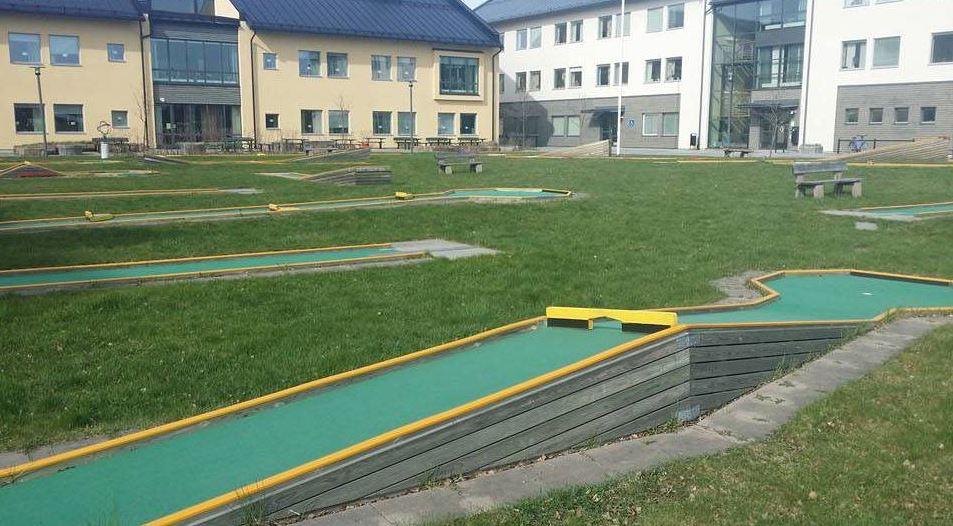 copy: Östersunds bowlingklubb,  © copy: Östersunds bowlingklubb, Minigolf campus