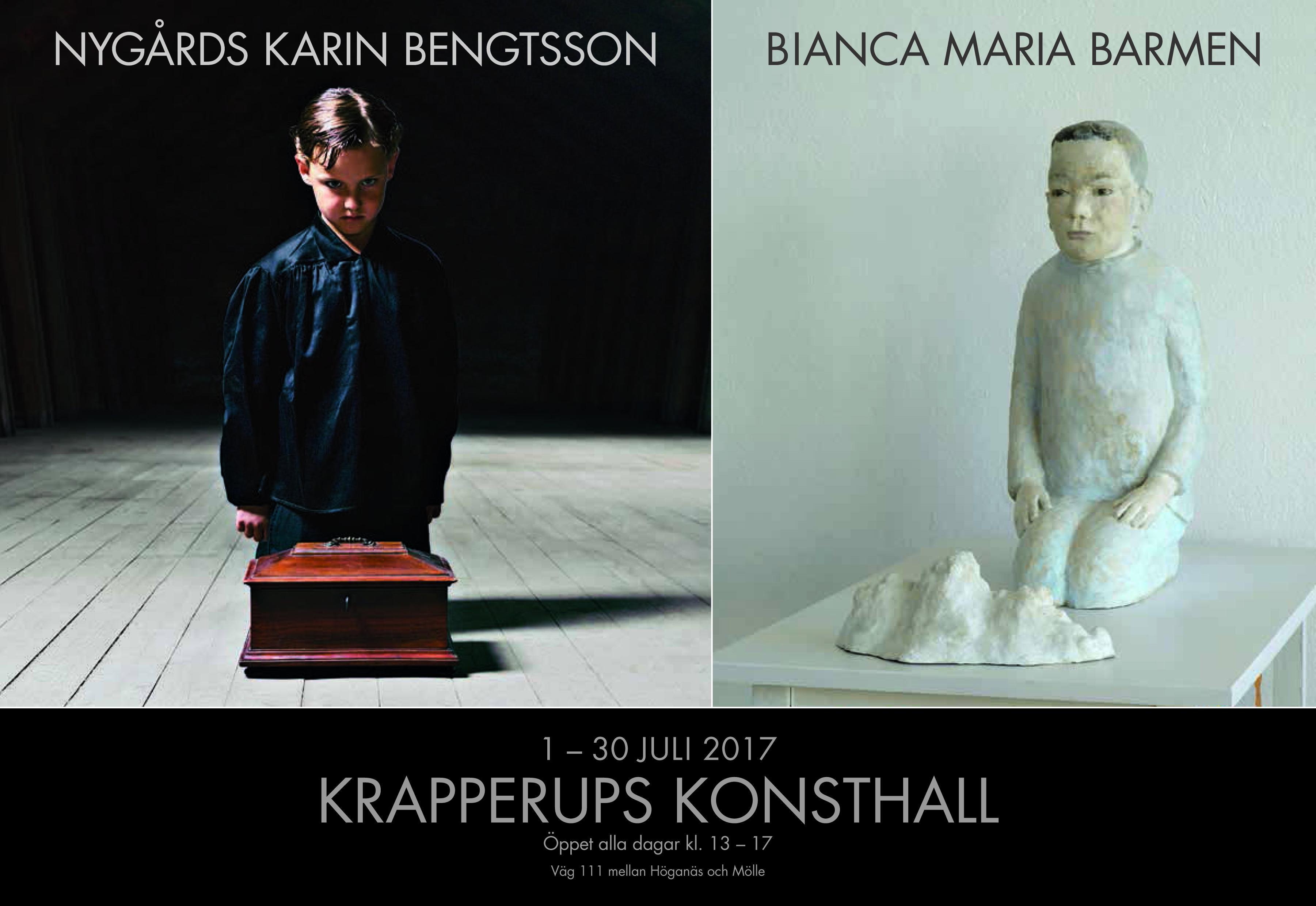 Utställning med Nygårds Karin Bengtsson och Bianca Maria Barmen