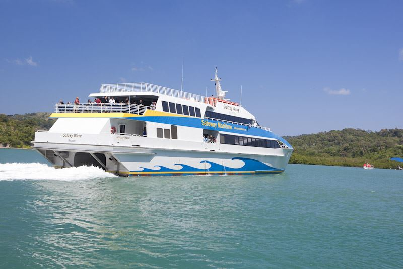 Roatan Ferry- Galaxy Wave
