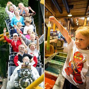 Norsk familieferie: Kongeparken + Byrkjedalstunet