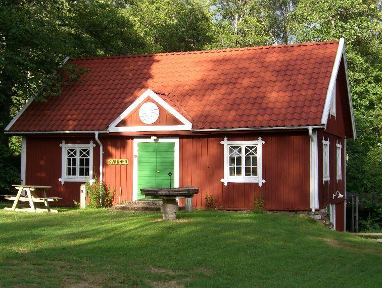 Kaffe och våfflor i Kvarnen Hagafors