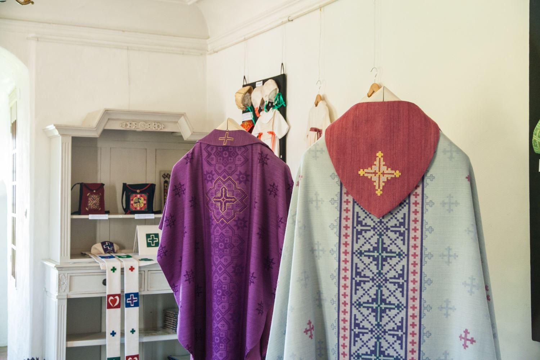 Utställning Gunvor Johansson – Skånsk konstvävnad & kyrkotextil