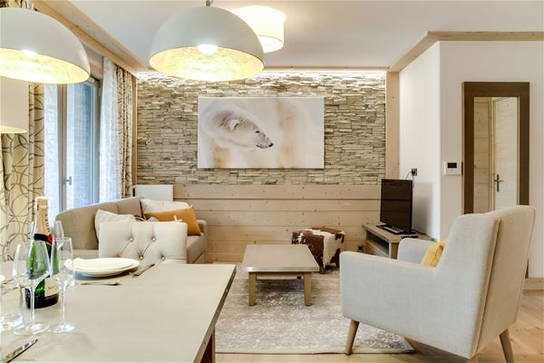 3 rooms 4 people / CARRE BLANC 130 (Mountain of Dream) / Tranquillity Booking