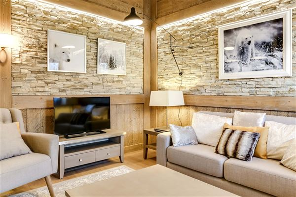 4 rooms 6 people / CARRE BLANC 140 (Mountain of Dream) / Tranquillity Booking
