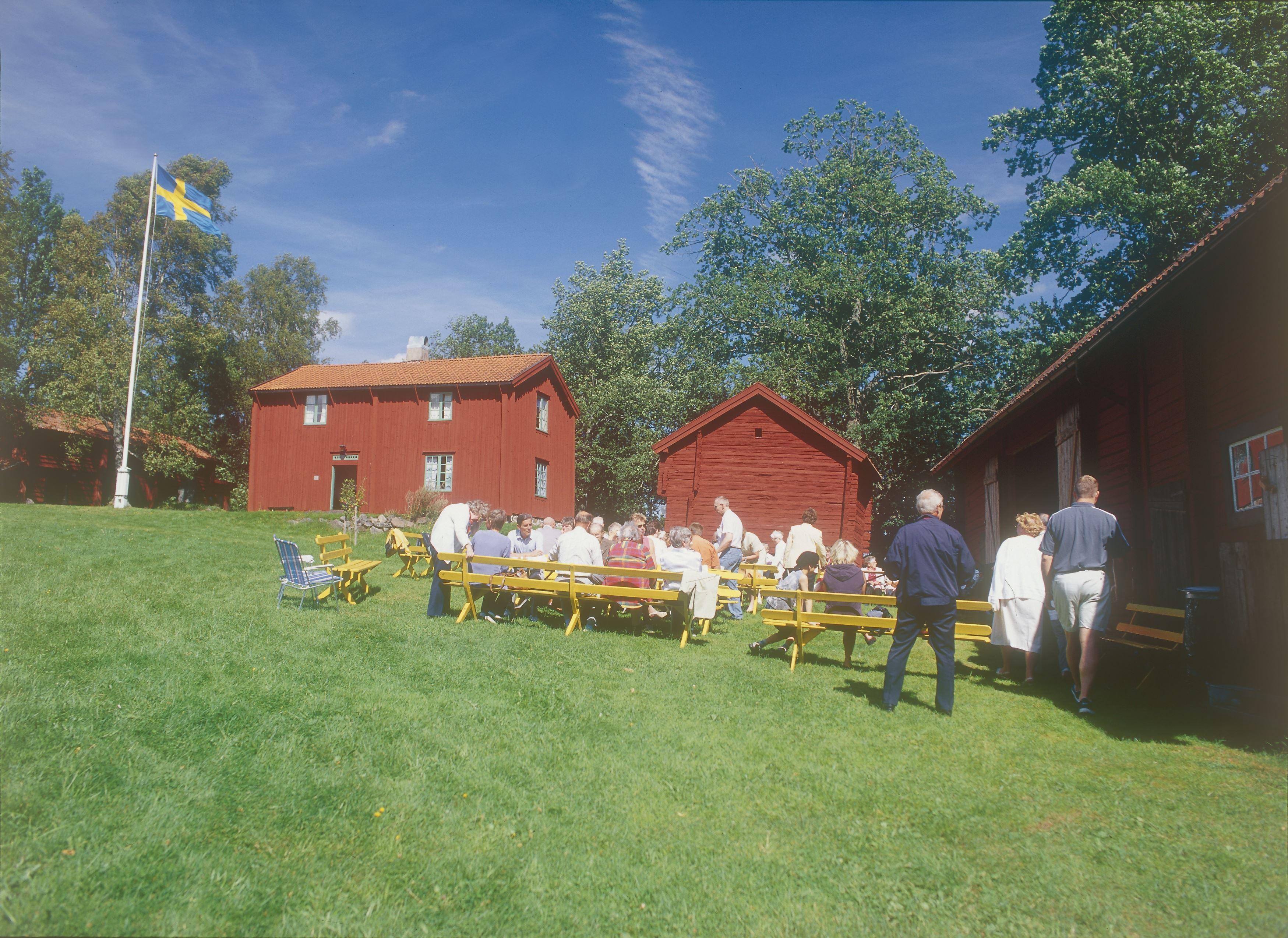 Arbetskvällar i Lönneberga hembygdspark