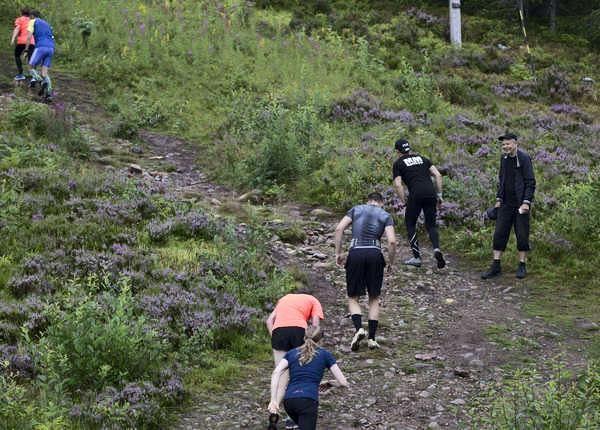 Gesunda mountain challenge - running
