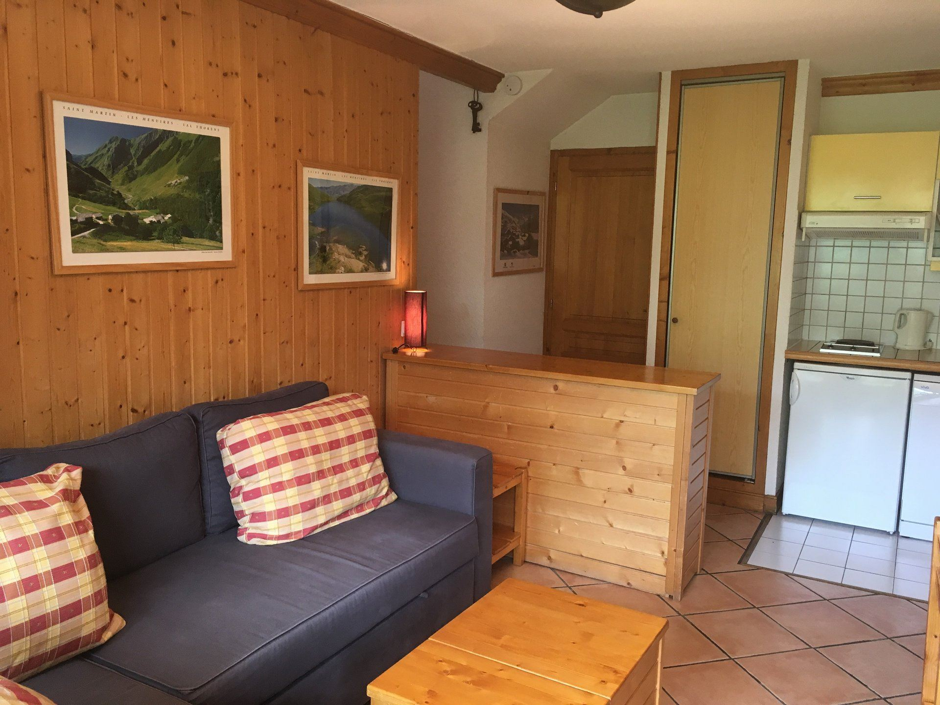 3 Rooms 6 Pers ski-in ski-out / BALCONS DE TOUGNETTE 11