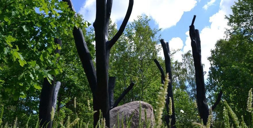 En konsthelg i Trädgårdarna på Astrid Lindgrens Näs