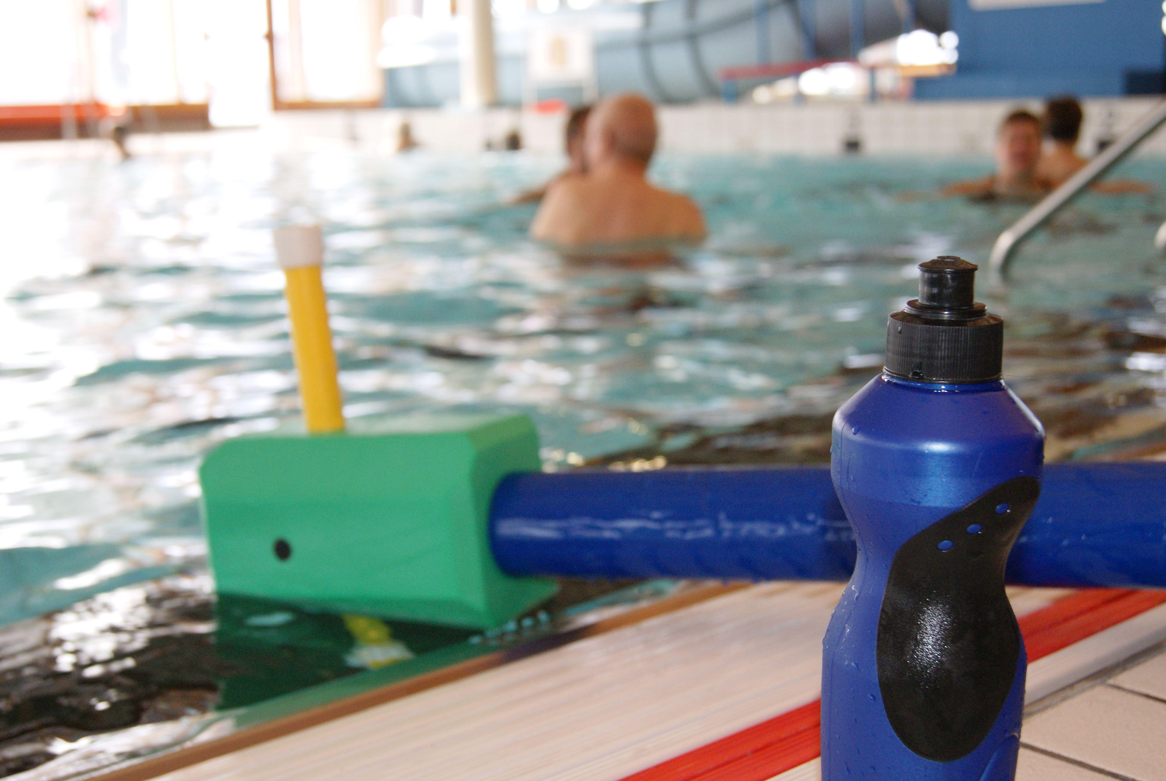 Vattenmix för herrar, terminsstart på Hagadal