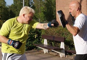 Boxing, terminsstart på Hagadal