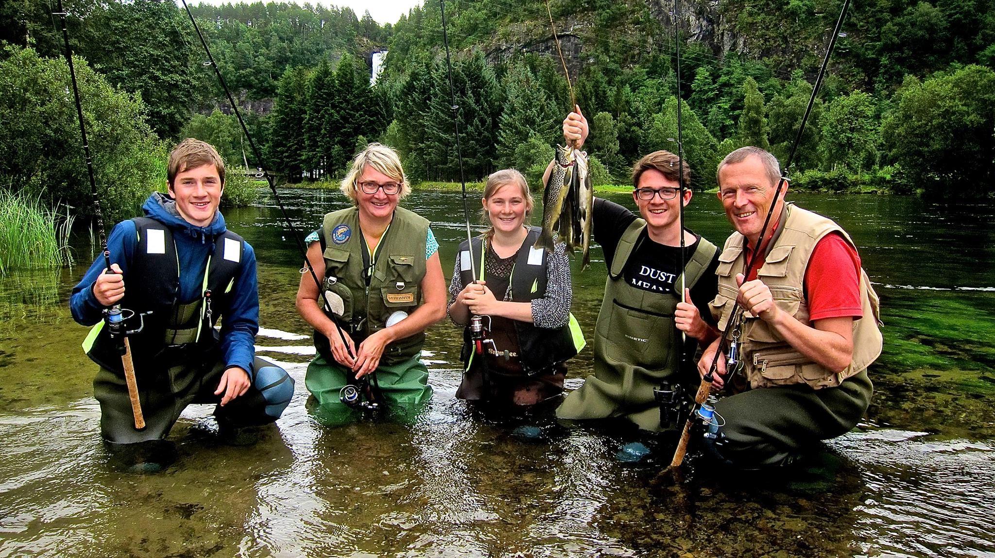 Fiskeopplevelser i Sunnfjord
