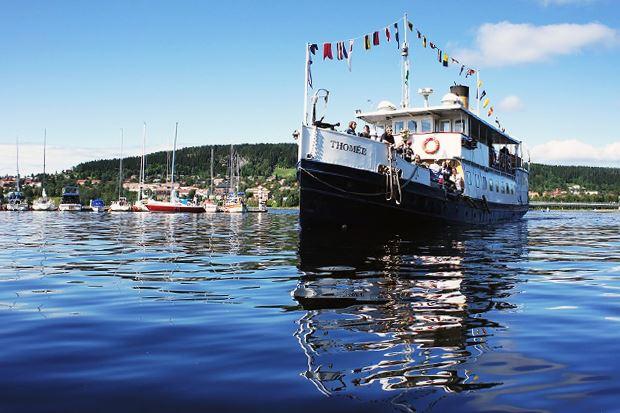 Båtturer med M/S Thomèe på Storsjön
