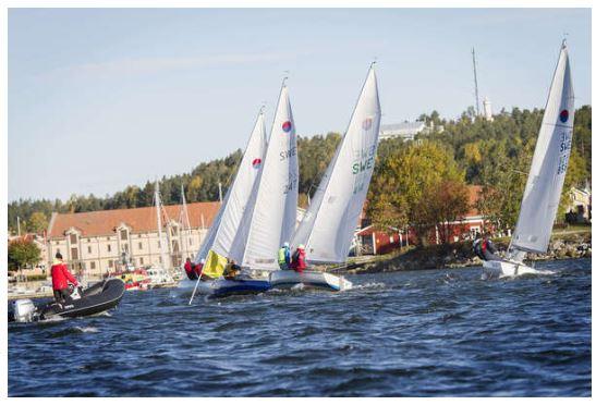 Segling SM-tävlingar 606-klassen i Hölick